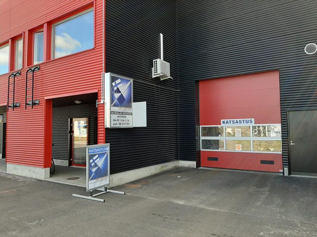 Katsastus Oulu, Maikkulan katsastus palvelee maanantaista perjantaihin klo 9-17